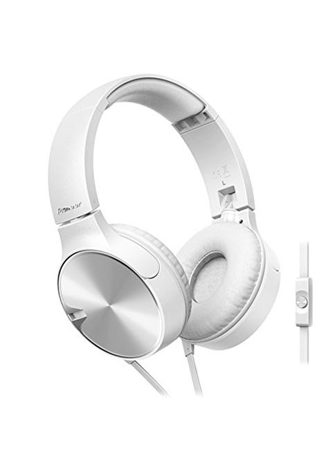Pioneer SE-MJ722T-W Kulaküstü Mikrofonlu Kulaklık Beyaz